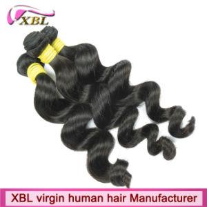 100% Virgin Peruvian Human Hair Extension Hair pictures & photos