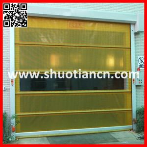 High Speed Automatic Roll up Shutter/Roller Shutter Door (ST-001) pictures & photos