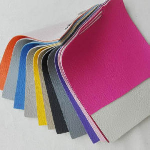 Modern Color PVC Artificial Leather for Sofa pictures & photos