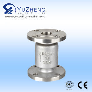 Industrial Stainless Steel Vertical Check Valve pictures & photos