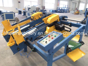 Sf602 ISO Best Price Double End Trim Saw Wood Pallet Making Machine pictures & photos