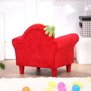 Sweet Home Strawberry Children Furniture Fabric Sofa (SF-261) pictures & photos