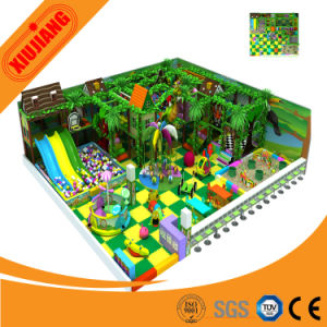 EU Standard Funny Kids Indoor Playground Slide Equipment (XJ5038) pictures & photos