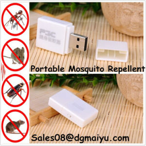 New Electronic Ultrasonic USB Charging Portable Mosquito Repellent pictures & photos