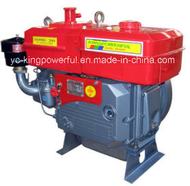 Jdde Brand Diesel Engine Yancheng China S195wp with Water Pump pictures & photos