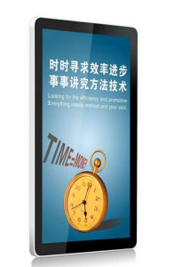 65′′android Wall Mount LCD Advertising Equipment with Touch pictures & photos