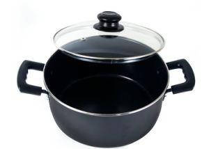 Amazon Vendor Aluminum Nonstick Dutch Oven 5-Quart Black pictures & photos