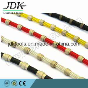 Long-Life Diamond Cable for Granite Block Squaring pictures & photos