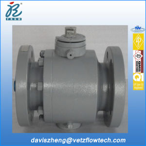4 Inch Class 300 RF Ends A105 Fire Safe Anti Static Bolted Cover Pipeline Ball Valves with Locking Device