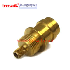 CNC Turning Machining Brass Pneumatic Hydraulic Fitting pictures & photos
