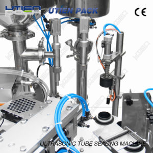 Automatic Ultrasonic Plastic Tube Filling and Sealing Machine (DGF-25C) pictures & photos