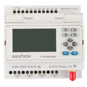 GSM/SMS/GPRS PLC, Ideal Solution for Remote Control& Monitoring &Alarming Applications (EXM-12DC-DAI-R-4G) pictures & photos