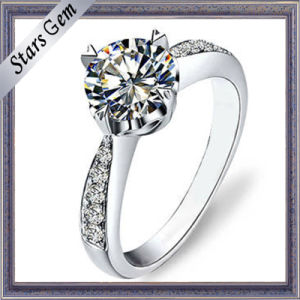 Imitation Diamond Great Quality Beautiful Silver Fashion Jewelry pictures & photos