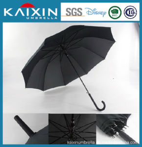 CIQ Waterproof Hydrophobic Fiberglass Auto Open Umbrella