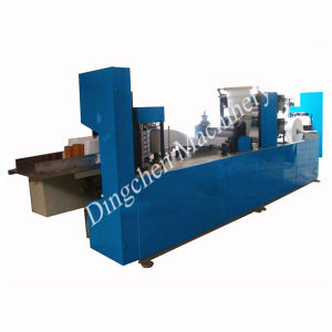 Tissue Paper Slitting Machine and Serviettes Paper Folding Machine pictures & photos