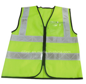 High Visibility Safety Vest with Crystal Tape pictures & photos