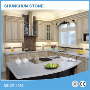 Grey Quartz Artificial Stone for Kitchen Countertops pictures & photos