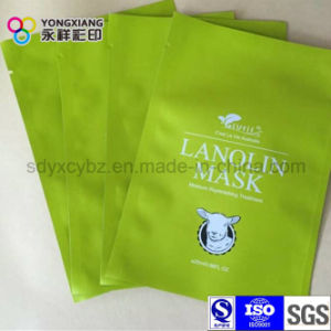 Laminated 3-Side Sealing Plastic Packaging Mask Bag pictures & photos