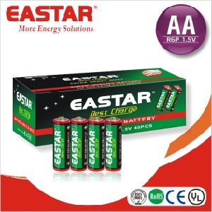 BV Certified Battery/Carbon Zinc AA Dry Battery pictures & photos