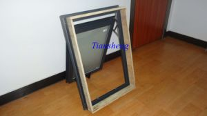 Aluminum Hung Window with Double Glazing for New Zealand Market pictures & photos