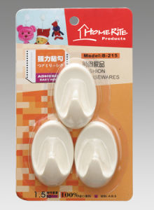 Plastic Adhesvie Hook (HK005) for Household Products