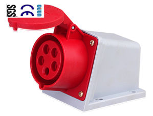 Industrial Socket (QJ-N115) of IP44 16A 3p+E+N Plastic PA66