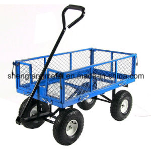 Heavy Duty Steel Crate Wagon with 1400 Lbs Capacity pictures & photos