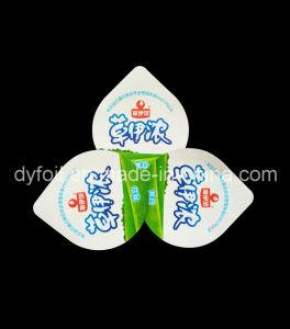 68mm Aluminum Foil Lids for Sealing Yoghurt Tubs pictures & photos