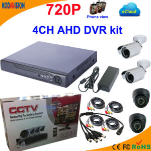 4 Channel Ahd DVR Kit with 720p Camera pictures & photos