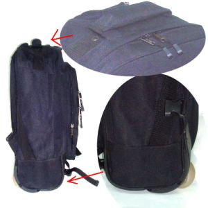 Durable Waterproof Nylon Backpack with 2-Way Pack pictures & photos