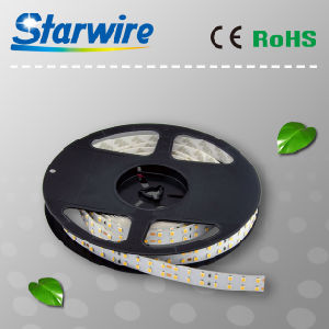 SMD2835-72LEDs/M LED Flexible Strip 17W/M (IP20 or IP65) pictures & photos