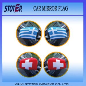 Customer Logo Design Car Wing Mirror Cover Flag