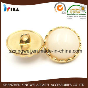 Pearled Bead Surface Metal Round Dome Button pictures & photos