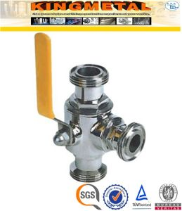 2/4/6/ Inch 2PC CF8/CF8m Sanitary Ball Valve Price for Food Industry pictures & photos