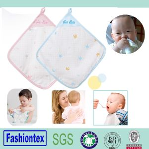 Muslin Square Organic Bamboo Wash Cloth for Baby pictures & photos