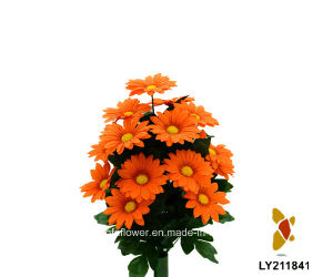 Artificial/Plastic/Silk Flower Daisy Bush (LY211841) pictures & photos