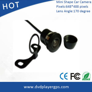 Mini Shape 170 Degree Car Security Side/Front/Rear View CMOS Camera pictures & photos