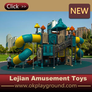 Ce Amazing Style Kids Outdoor Plastic Playground Slide (X1508-1) pictures & photos