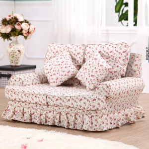 Double Seats Cotton Print Children′s Chair (SXBB-287) pictures & photos