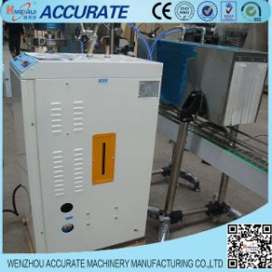 Steam Type Heating Label Shrinking Machine for Bottles pictures & photos