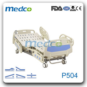 Five Functions Unfolded Electric Hospital Bed pictures & photos