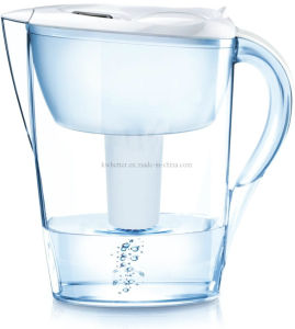 2016 Factory New Model 3.5L Alkaline Water Filter Pitcher White pictures & photos