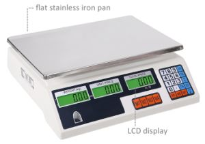 Most Popular Model White Base Digital Price Computing Scale pictures & photos