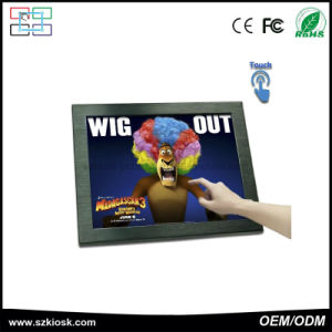 Wholesale 15 Inch 4 Wire Resistance Touch Screen LCD Digital Monitor pictures & photos