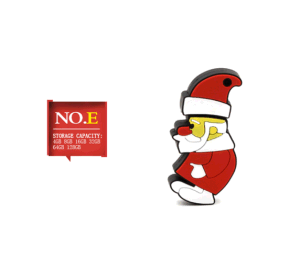 Small Style and Fashionable Christmas Gift Plastic USB Flash Drive pictures & photos