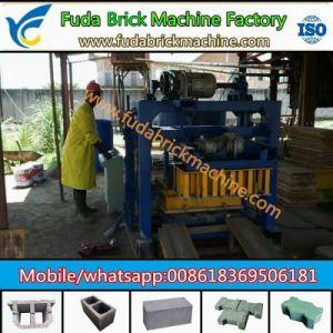 Small Qt40-2 Manual Solid Brick Machine Concrete Cabro Block Machine pictures & photos