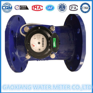 Dn100mm Horizontal Woltman Photoelectric Water Meter pictures & photos