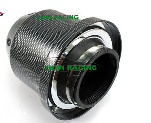 3in Chromed Auto Car Air Filter Universal for Air Intake Pipe pictures & photos