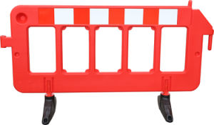 Interlocking Superior Quality Traffic Safety Plastic Traffic Barricade for Sale pictures & photos