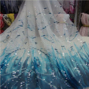 100% Polyester Printed Silk Chiffon for Lady Dress Fabric pictures & photos